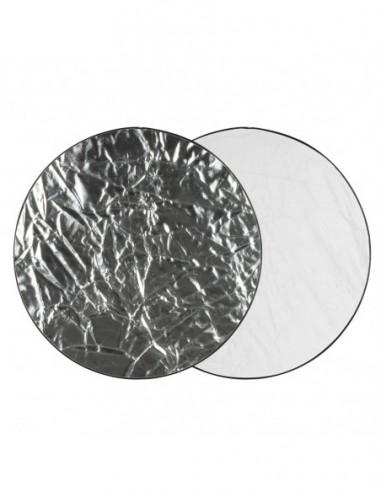 GlareOne Blenda 2w1 srebrno biała, 60cm