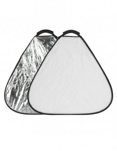 GlareOne Blenda trójkątna 2w1 srebrno...